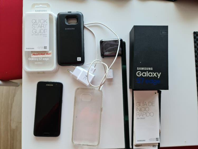 Samsung galaxy s7 edge + funda cargador original