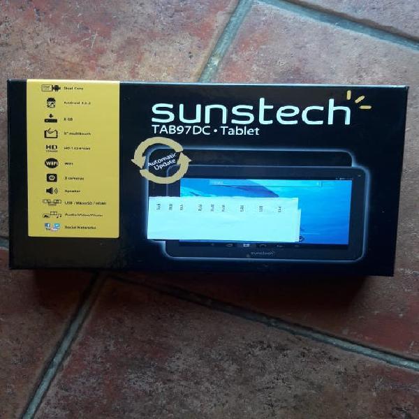 "Tablet sunstech de 8gb pantalla 9"" nueva"