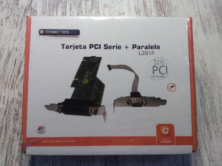 Tarjeta pci puerto serie + paralelo