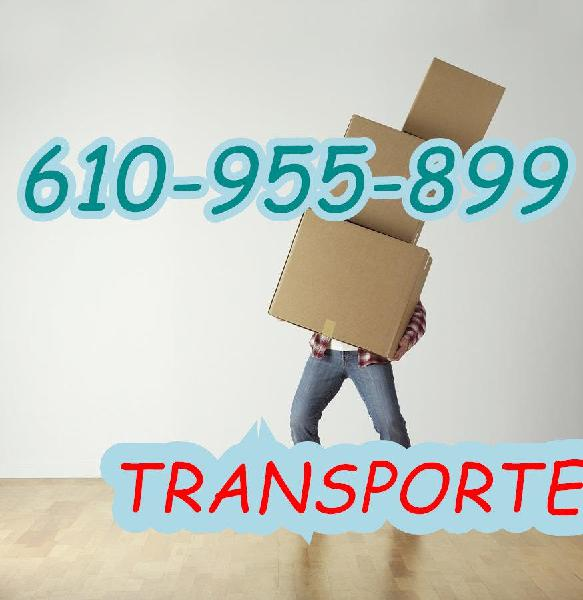 Transportes, mudanzas y portes express desd
