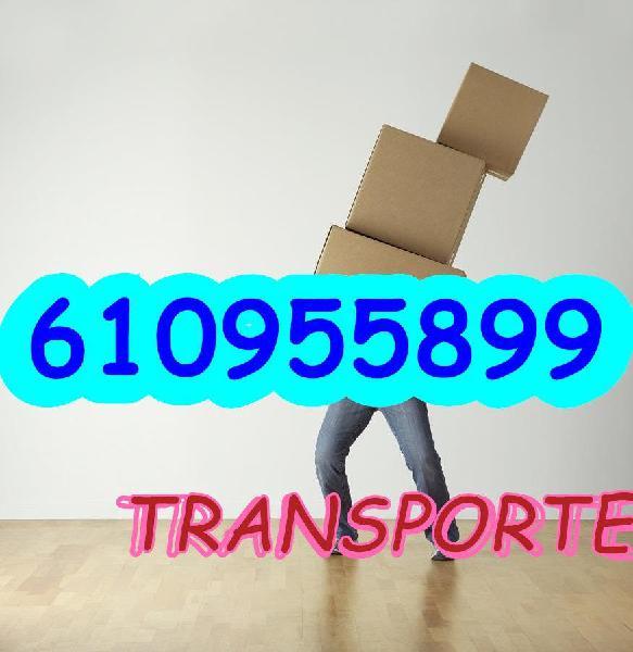 Transportes, portes y mudanzas baratas seri