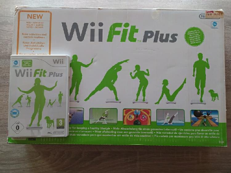 Wii fit plus + tabla completo