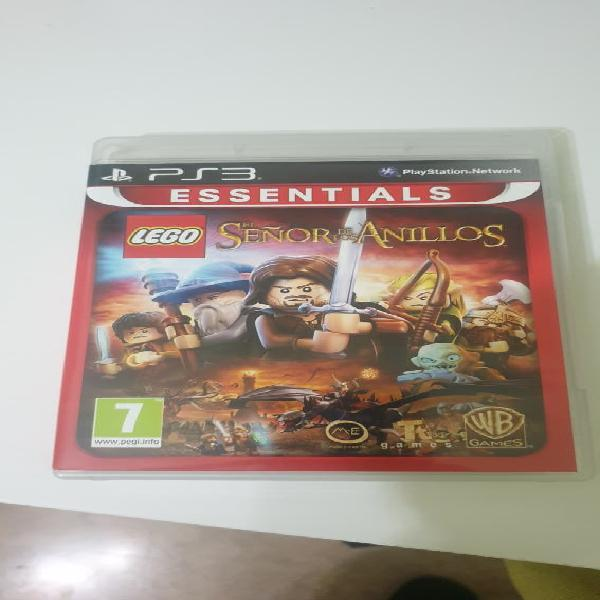 Lego el señor de los anillos ps3