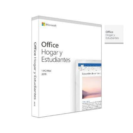 Licencia microsoft office home & student 2019