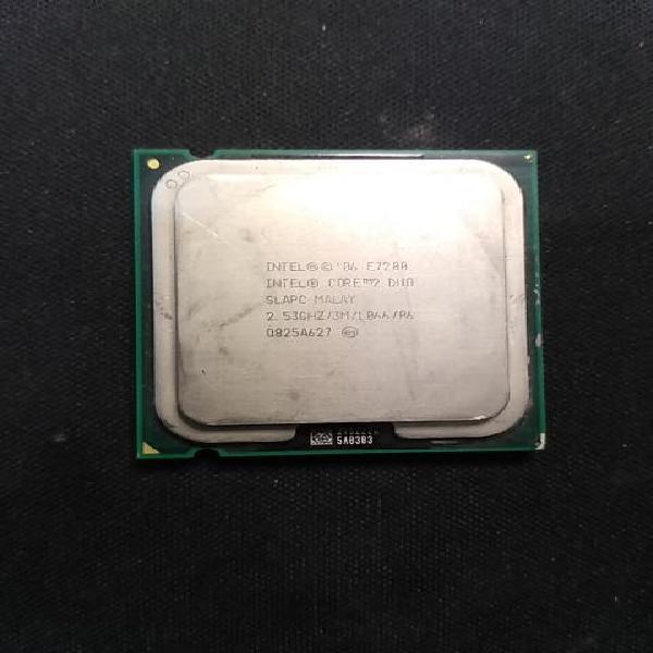 Procesador intel core 2 duo e7200