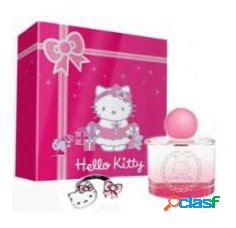 Cartoons hello kitty eau de toilette 100 ml + 2 anillos