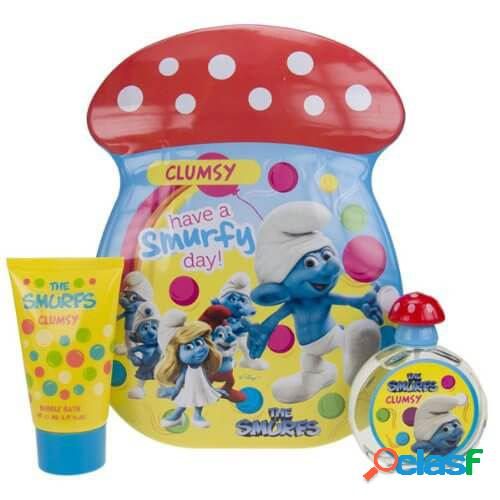Cartoons pitufos clumsy eau de toilette 50 ml + gel 75 ml
