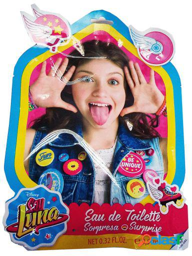 Soy luna eau de toilette sorpresa 9 5 ml + lima + decoracion uñas 5 ml