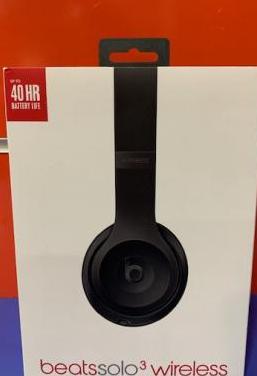 Auriculares beats solo3 wireless nuevos a estrenar