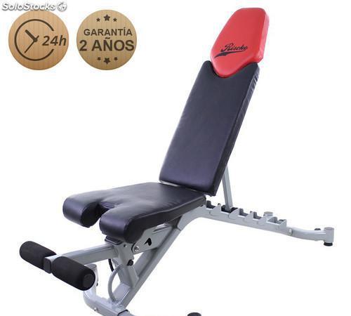Banco de musculación ajustable fitness bm5 - 1
