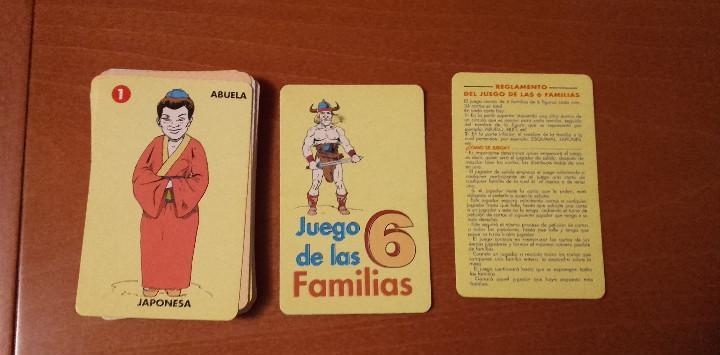 Baraja de cartas juego de las familias