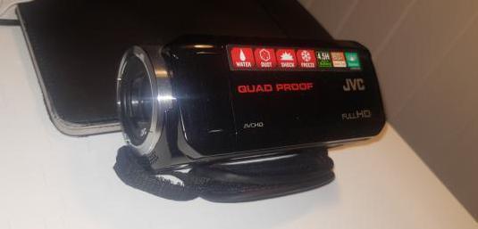 Camara de video, filmadora,jvc everio gz-rx515be