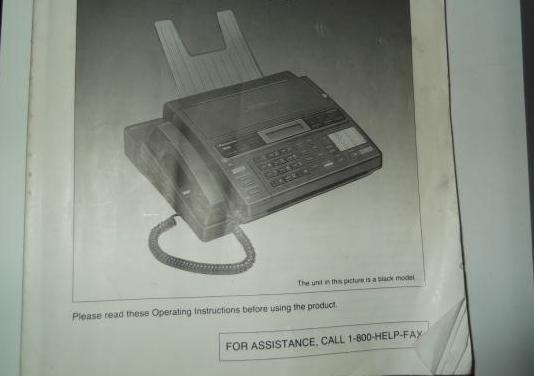 Fax ,contestador y teléfono