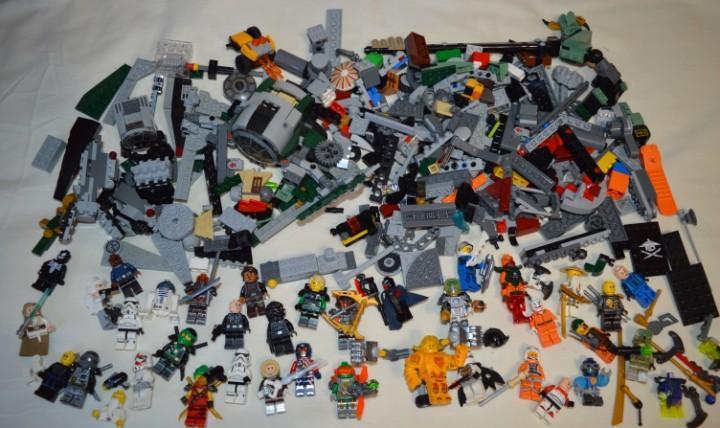 Gran lote de lego - star wars y otros - muchas figuras,