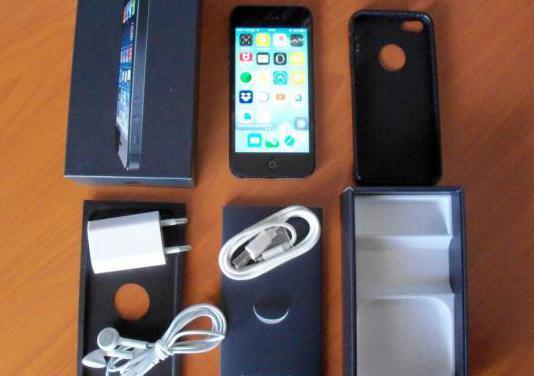 Iphone 5 negro 16 gb/4g