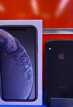 Iphone xr 64 gb black como nuevo