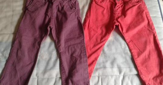 Lote pantalones niña 18 - 24 meses