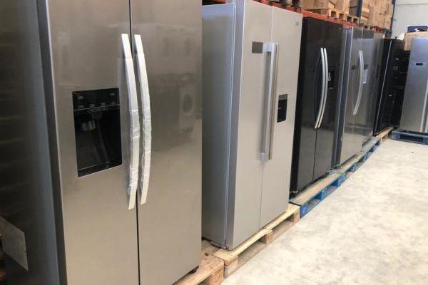 Lotes de frigoríficos de doble puerta americanos