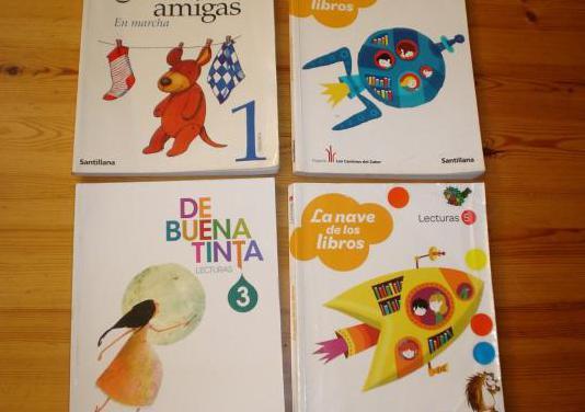 Lecturas para primaria, de santillana