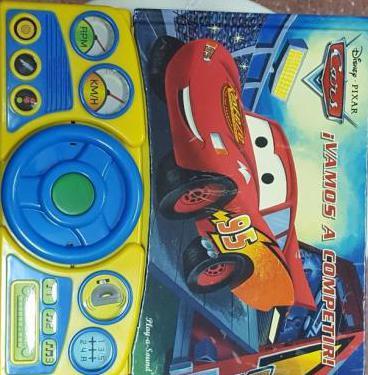 Libro-juguete de rayo mcqueen