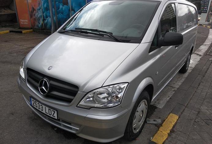 Mercedes benz vito 113cdi furgon 2011. como nueva!!!