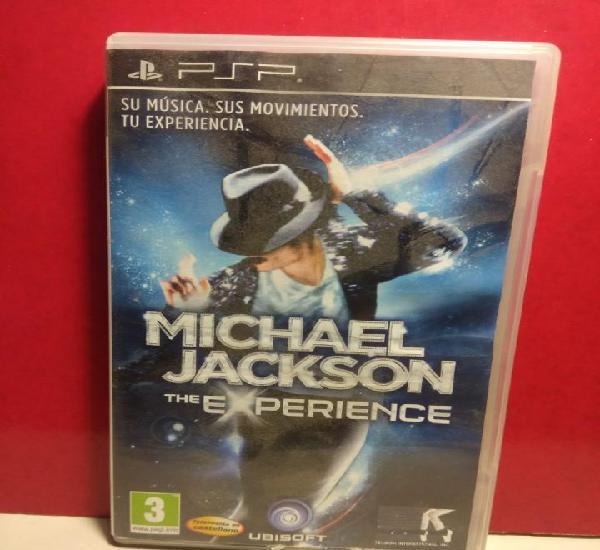 Michael jackson, the experience (mini disquete psp) en