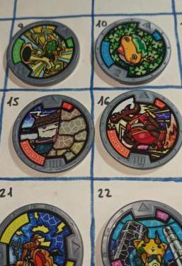 Medallas yokai serie 1