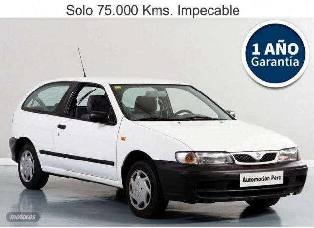Nissan almera 1.4i 16v lx 90cv. pocos kms, economico de 1998