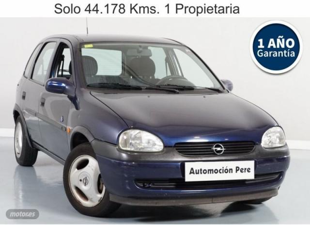 Opel corsa 1.4i 60 cv mundial. 1 propietaria. solo 44.000