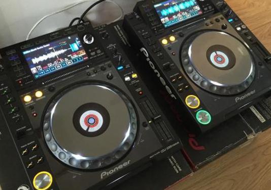 Pioneer cdj-2000 nexus mk2 multimedia dj player