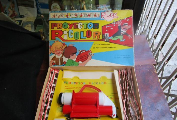 Proyector ricolor - juguetes rico, carpanta, edt bruguera,