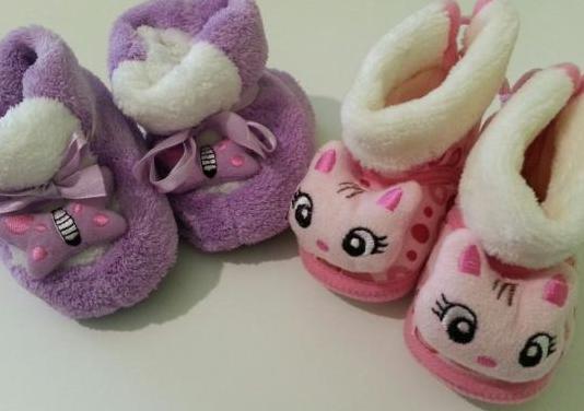 Patucos zapatos casa bebé 6-9m