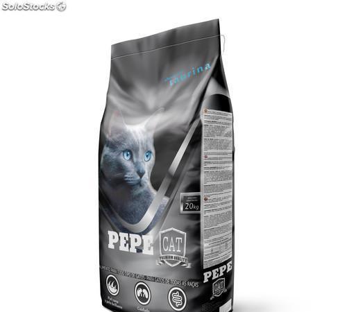 Pienso para gatos en saco de 20 kgs.