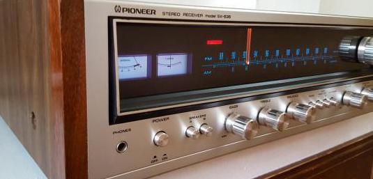 Pioneer sx-535 amplificador receiver vintage