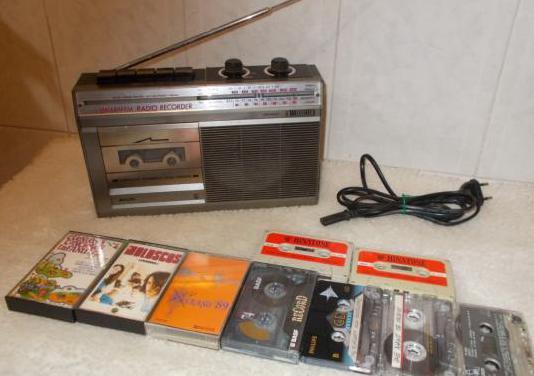 Radio cassette philips vintage 1978 funciona!