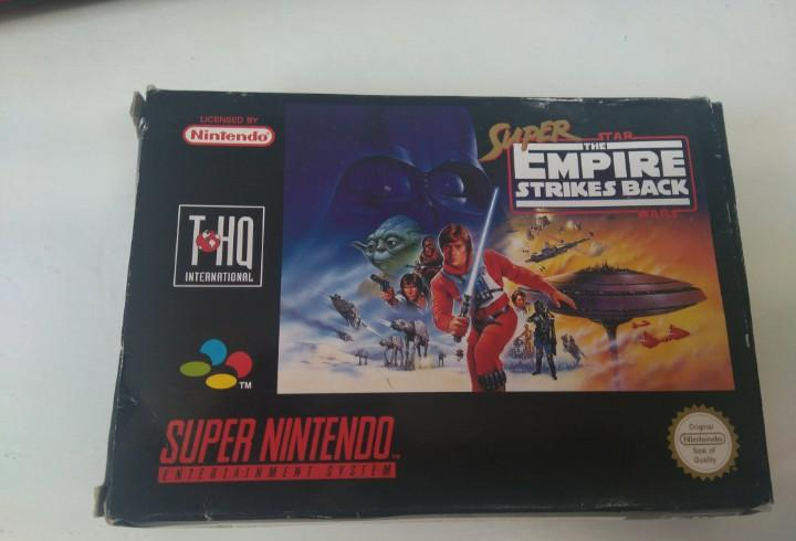 Super the empire strikes back para snes entre y mire mis