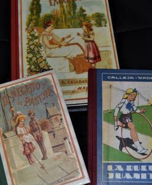 Tres libros de cuentos de calleja