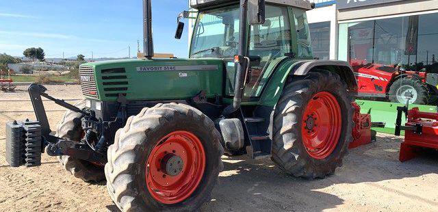 Venta de Tractor Fendt 514 en Murcia