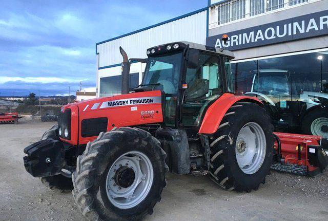 Venta de Tractor Massey Ferguson 6480 en Murcia