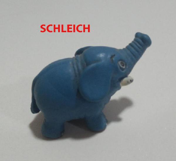 Elefante sleich schleich goma pvc muñeco animal elephant