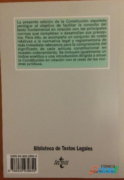 LA CONSTITUCIÓN ESPAÑOLA 1