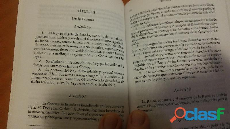 LA CONSTITUCIÓN ESPAÑOLA 4
