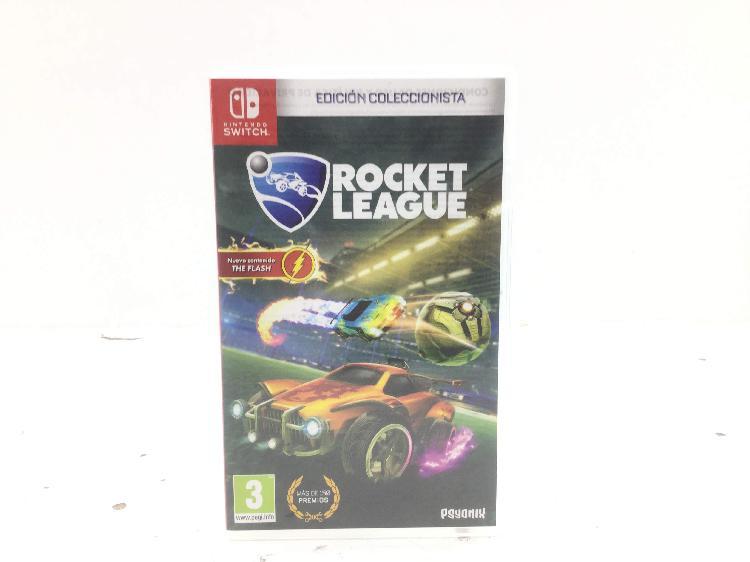 Rocket league: edición coleccionista n-switch