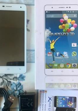 Smartphone xirius 5.5 avenzo