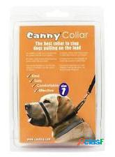 Canny dog collar color negro t-7