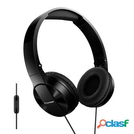 Auriculares con microfono pioneer pure sound se-mj503t-k negros - driv