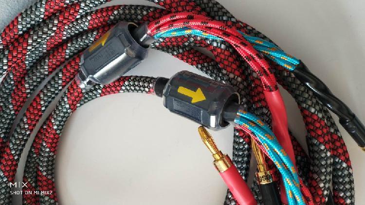 Cables altavoz high end 2.5