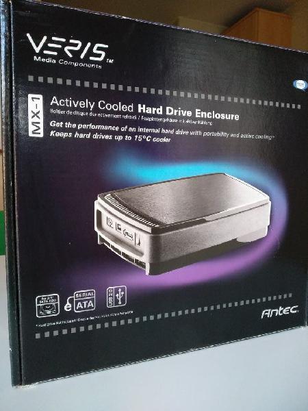 Caja externa disco duro hdd esata/usb antec mx-1