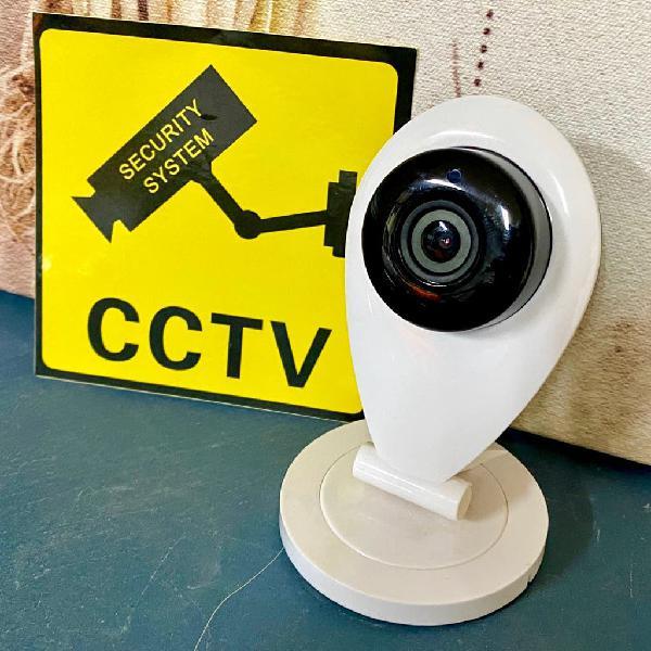 Cámaras de vigilancia con señalización #pregunta