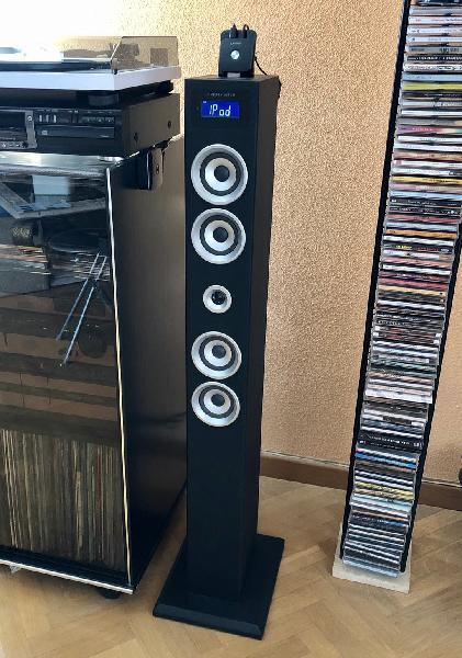 Energy sistem torre sonido con bluetooth instalado